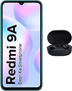 Redmi 9A (Sea Blue, 3Gb Ram, 32Gb Storage) with Redmi Earbuds 2C