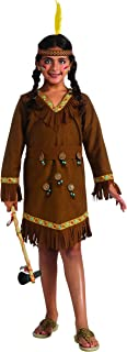 Drama Queens Native American Girl Costume, Medium