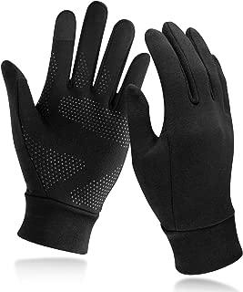 Unigear Running Gloves, Touch Screen Anti-slip Lightweight Gloves Liners for Cycling Biking Sporting Driving for Men Women