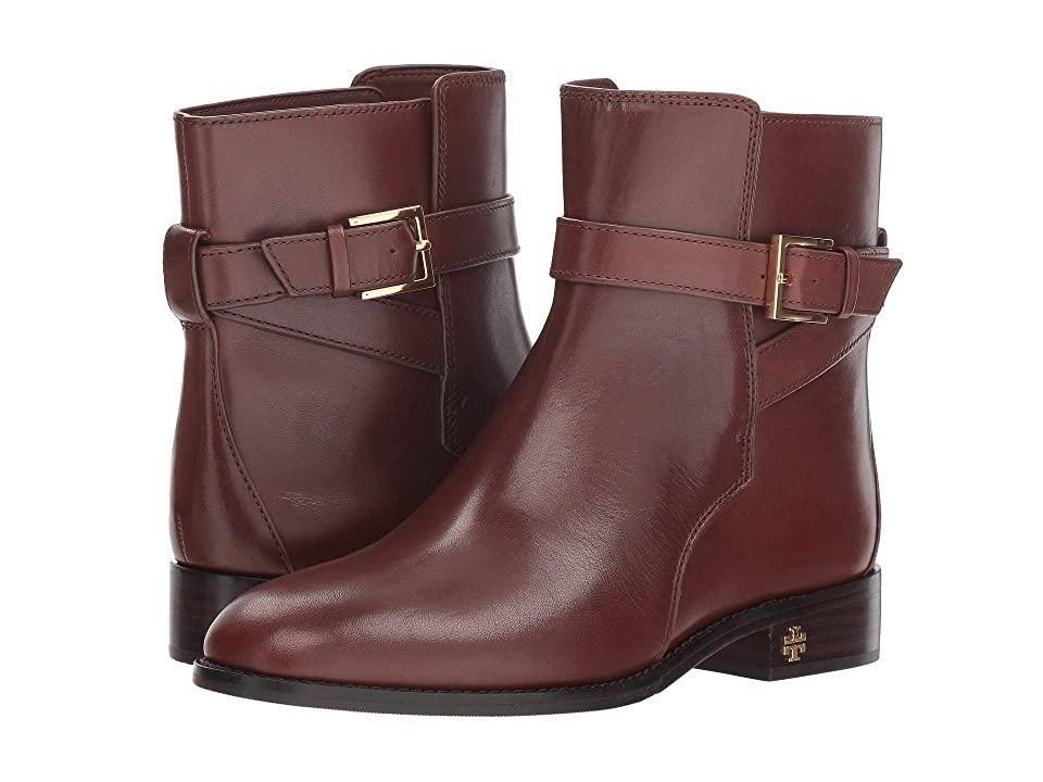 Tory Burch Brooke Ankle Bootie (Perfect Brown) Women