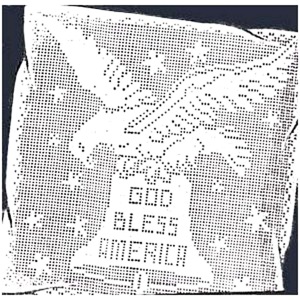 Crochet Bald Eagle Pattern | Crochet applique patterns free ... | 1000x1000