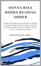 Donna Ball Books Reading Order: Raine Stockton Dog Mysteries in order, Ladybug Farm Series in order, Dogleg Island Mystery Series in order and list of all Donna Ball Books