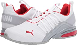 Puma White/High-Rise/High Risk Red