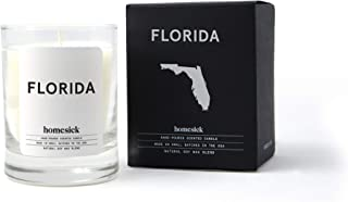 Homesick Mini Scented Candle (10 to 12 hr Burn Time) Home, 1.5 oz, Florida