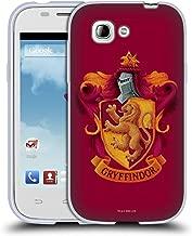 Official Harry Potter Gryffindor Crest Chamber of Secrets I Soft Gel Case Compatible for ZTE Blade C2 Plus