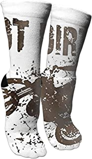 靴下 抗菌防臭 ソックス スポーツスポーツソックス、旅行&フライトソックス、塗装アートファニーソックス30 cmロングソックス