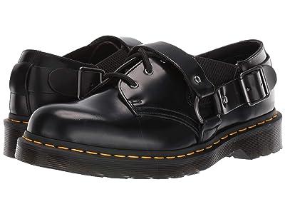 Dr. Martens Fulmar (Black Polished Smooth) Shoes