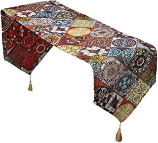 Secret Sea Collection - Caminos de Mesa de diseño Bohemio 178 x 37 cm