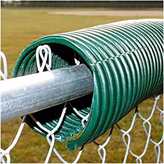 MID-AMERICA SALES 250' Poly-Cap Fence Guard (Green)