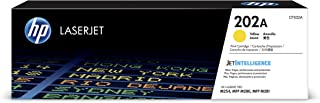 HP 202A (CF502A) Yellow Toner Cartridge for HP Laserjet Pro M254 M281cdw M281dw
