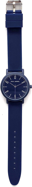 Paul Jarrel Reloj Analógico para Unisex Adulto de Cuarzo japonés con Correa en Silicona PJ20202