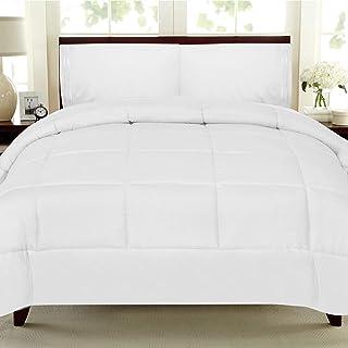 My Sweet Home Goose Down Alternative Comforter, Queen, White