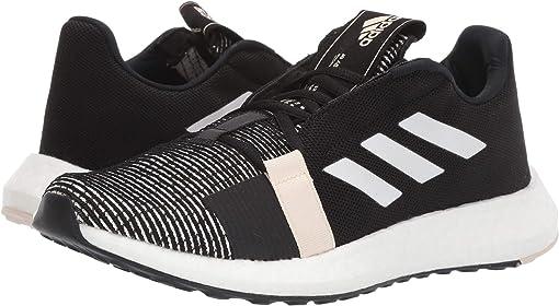 Core Black/Footwear White/Linen