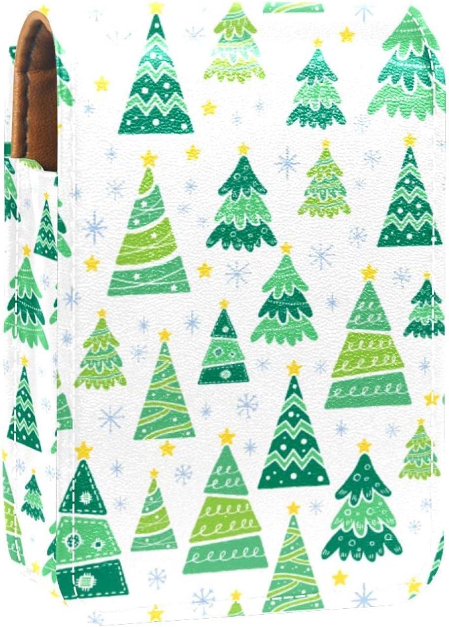 Bargain sale Cartoon Christmas Tree Lip Gloss Lipstick Case Portable M online shop Holder