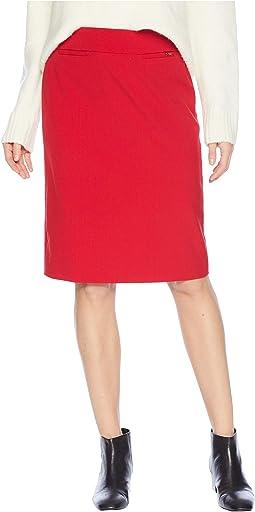 Bi-Stretch Pencil Skirt