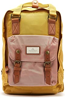 Doughnut Macaroon Yellow / Rose Backpack