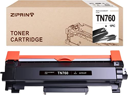 popular Ziprint Compatible Toner Cartridge Replacement high quality for Brother Tn760 Tn-760 Tn730 to use with MFC-L2750DW high quality HL-L2350DW DCP-L2550DW HL-L2395DW MFCL2710DW Printer(1-Black, High Yield) online