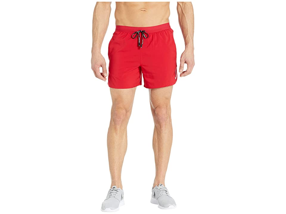 Nike Flex Stride Shorts 5 BF (Gym Red/Metallic Silver) Men
