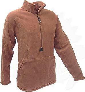 Polartec Fleece Pullover, Coyote Brown, USMC Issue, Made in USA