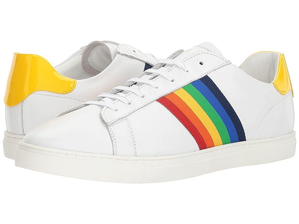 DSQUARED2 New Tennis Sneaker (White/Yellow) Men