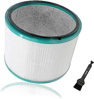 iAmoy Reemplazo de HEPA Filtro Compatible Dyson Pure Cool HP03 & DP01 DP03 Purificador de Aire de Escritorio y Dyson HP02 HP01 HP00 Pure Hot + Cool Link Ventilador Limpiador