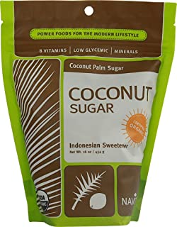 Navitas Naturals, Coconut Sugar, 16 Ounce (Pack of 6)