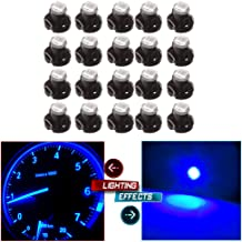 cciyu T3 Neo Wedge A/C Climate Control Lights 8mm Indicator Instrument Dash Light Bulb,20 Pack