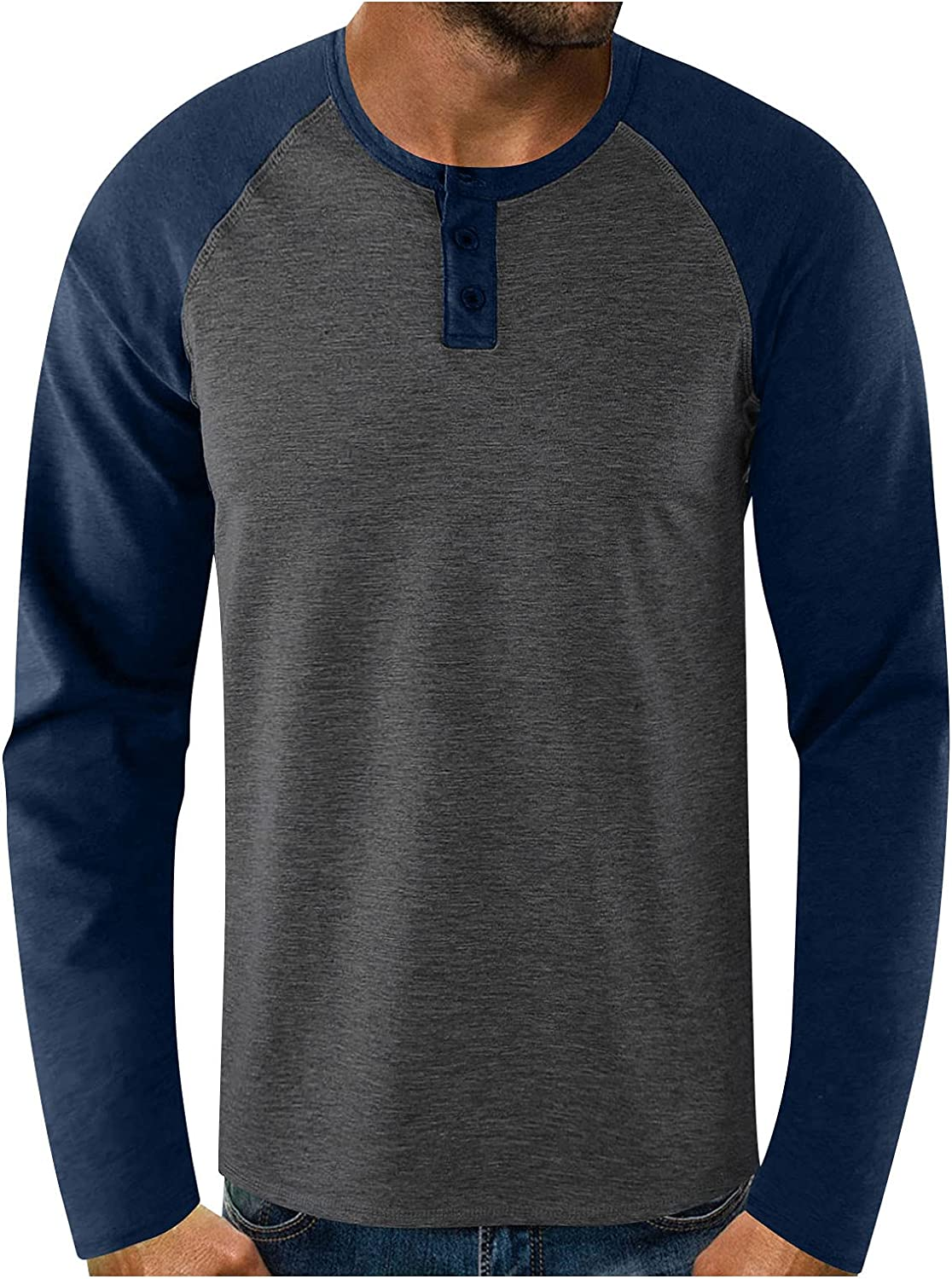 DZQUY Mens Slim Fit Gym Workout T-Shirts Long Sleeve Performance Athletic Shirts Running Fitness Tee