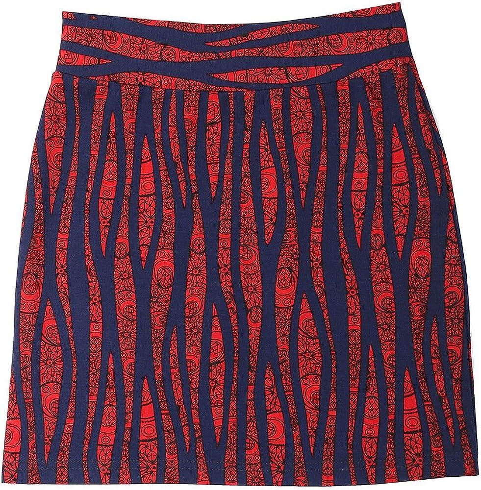 Emp Women's Plus Size High Waist Slim Fit Elastic Pencil Skirt Short Skirt S-5XL