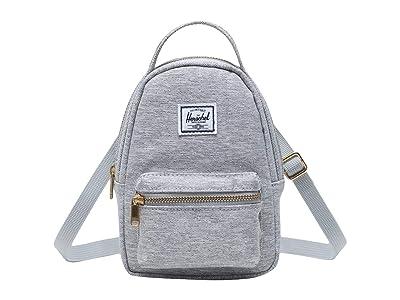 Herschel Supply Co. Nova Crossbody (Light Grey Crosshatch) Handbags