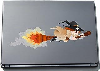 Naklejka na laptopa - czarownica 09 - witch - laptop skin - 297 mm naklejka