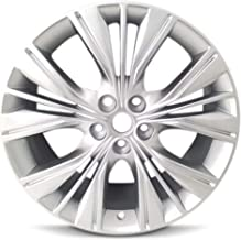 Road Ready Car Wheel For 2014-2018 Chevrolet Impala 20 Inch 5 Lug Silver Aluminum Rim Fits R20 Tire - Exact OEM Replacement - Full-Size Spare