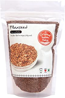 Original Indian Table Flaxseed, 400g x 2 (Pack of 2)