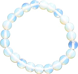 Selenite Charged Radiant Opalite Crystal Bracelet