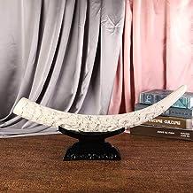 Hars handwerk draak ivoor imitatie ivoor ornamenten
