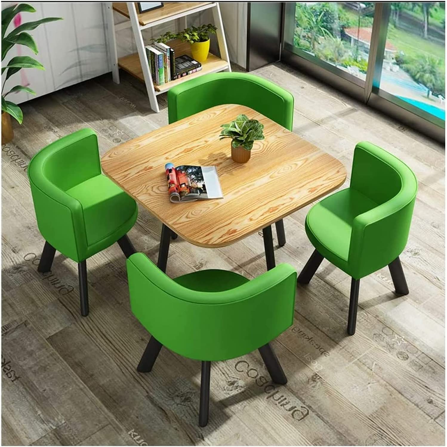 ZHZH Dining Table and Set Tea Leisure price Chair Reservation