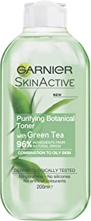 Garnier Skin Active Purifying Botanical Toner With Green Tea To Oily Sikn 200ml
