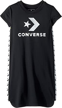 Star Chevron Track Dress (Toddler/Little Kids)