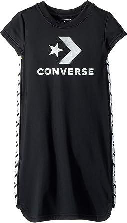 Star Chevron Track Dress (Toddler/Little Kids)