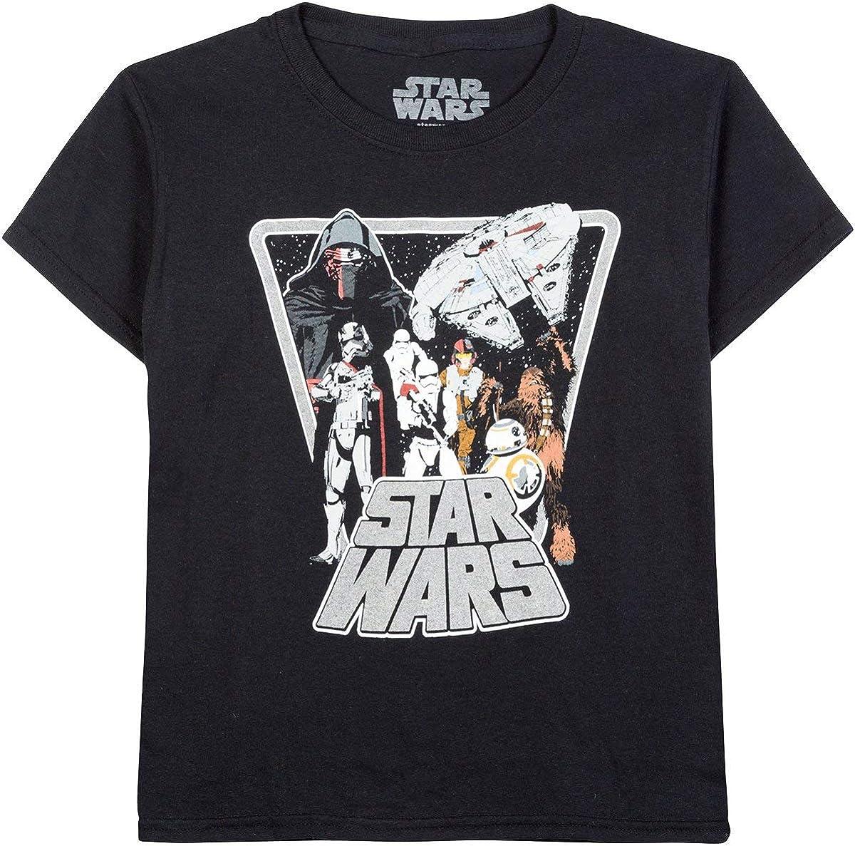 Star Wars Vintage Look Boys Shirt 4-16