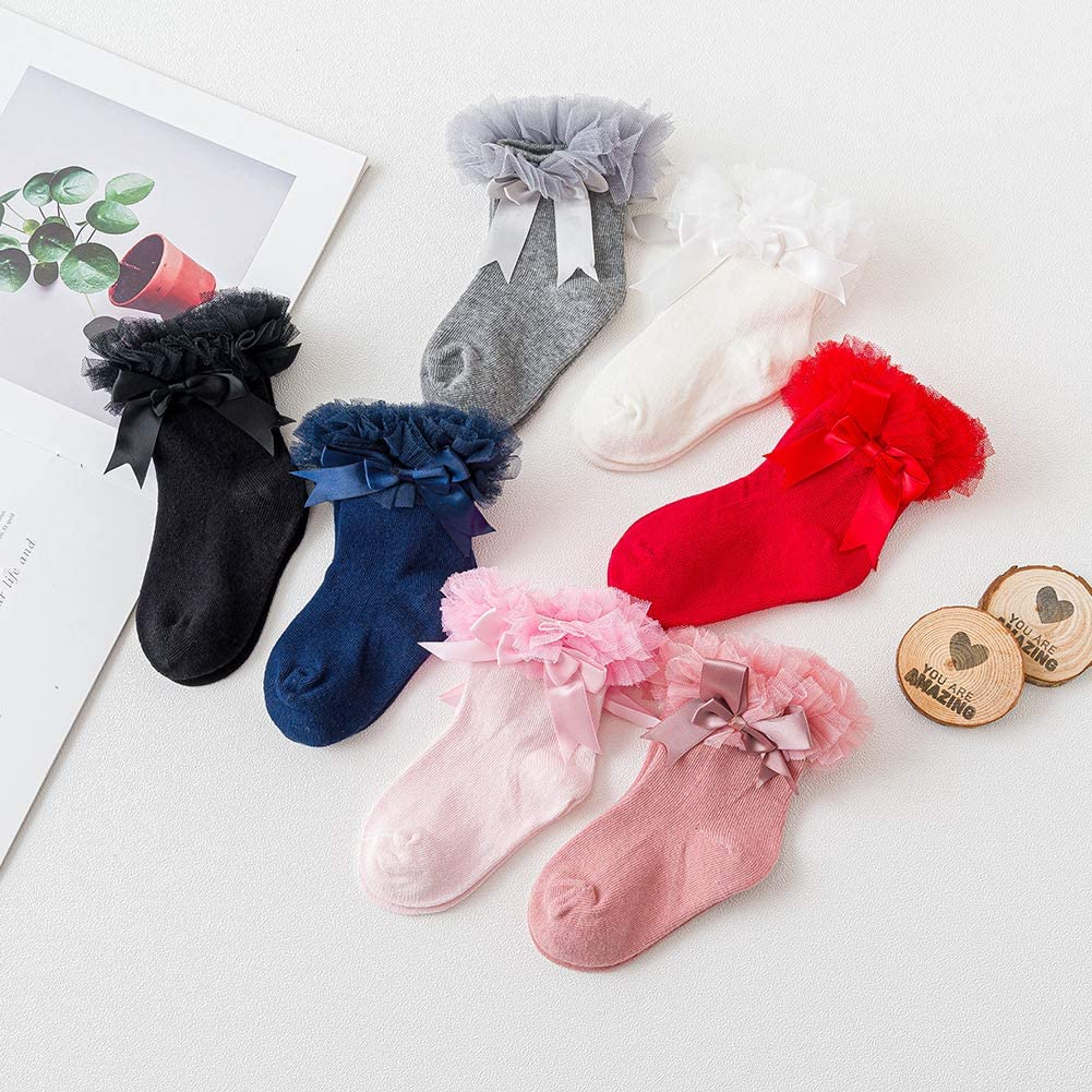 Bottoming Pantyhose Girls Baby Newborn Knit Tights Seamless Stock Leggings Plain 2 Pairs Socks Pants Winter With Bows Happy Cherry