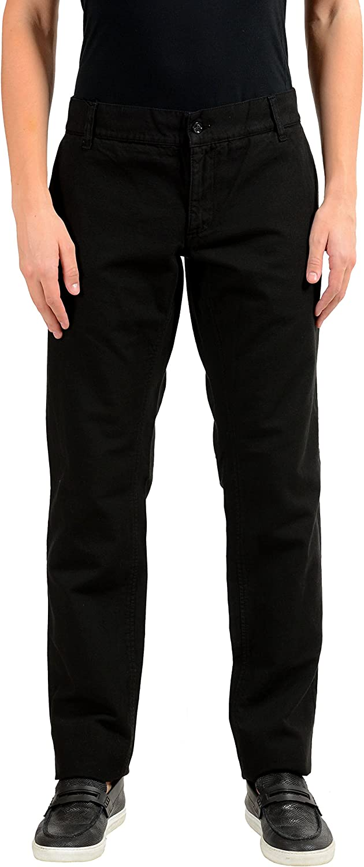 Dolce & Gabbana Men's Black Casual Pants US 36 IT 52