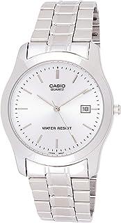 Casio Metal Fashion MTP-1141A-7ARDF (CN) Silver For Men, Analog