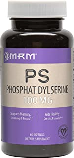 PS (PhosphatidylSerine) 100mg (from 500mg Mixed phospholipids)