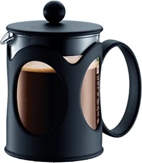 Bodum Kenya Coffee Maker, 0.5L, Black