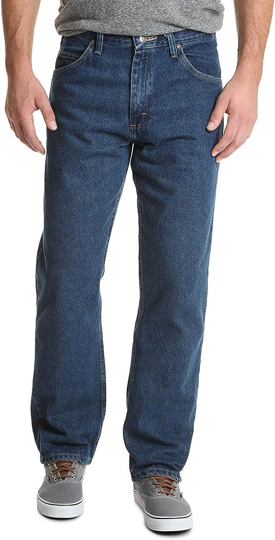 Wrangler Authentics Men's Classic 5-Pocket Relaxed Fit Cotton Jean