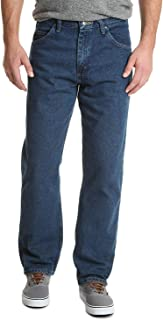 Wrangler Authentics Men's Classic 5-Pocket Relaxed Fit Cotton Jean