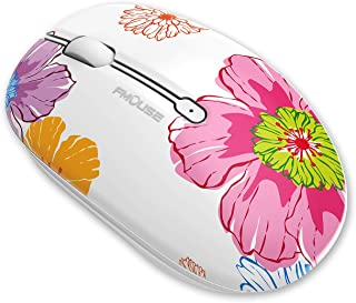Coener Ratón Inalámbrico Bluetooth, M102 BT5.0 + 2.4G inalámbrico Mouse Bluetooth Compatible con Laptop/Macbook/iPhone (OS...