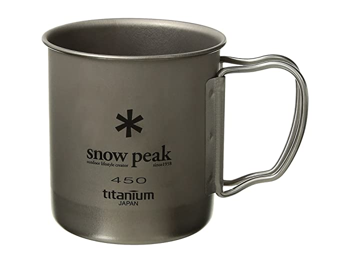 Titanium Single Wall 450 Mug (Titanium) Dinnerware Cookware