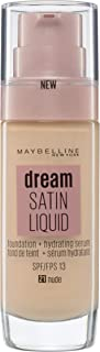 Maybelline New York Dream Satin Foundation Liquid Nude 21